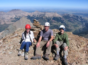 Summit of Mt. Blakiston