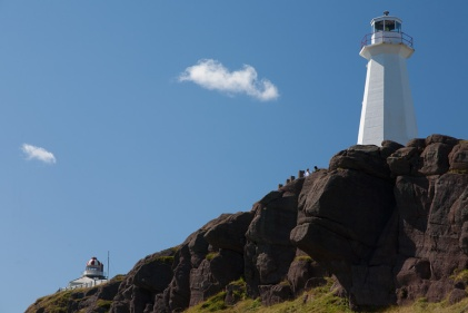 Lighthouses at Cape Spear