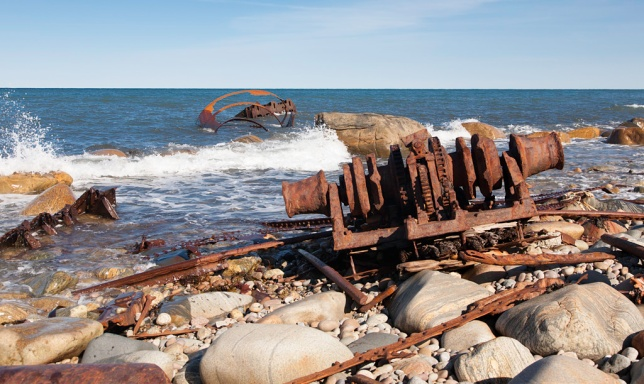 Shipwreck of the SS Ethie