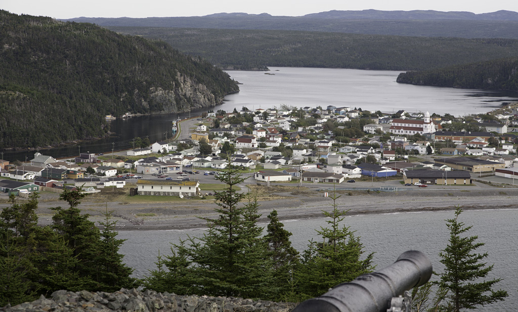 Placentia seen from Castle Hill