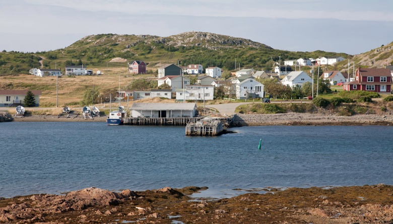 Village scene in Twillingate