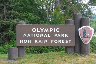 Entrance to the Hoh Rain Forest