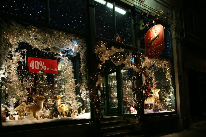 Boutique de Noël (rue de Buade)