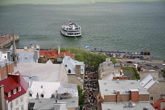 Quebec City - Levis Ferry
