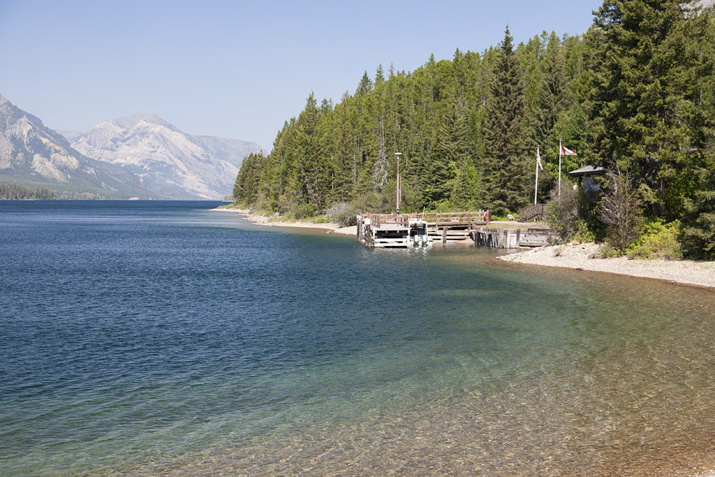Goat Haunt Campground – Glacier National Park, Montana