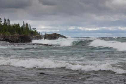 Sawpit Bay, Lake Superior