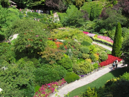 Victoria & the Butchart Gardens
