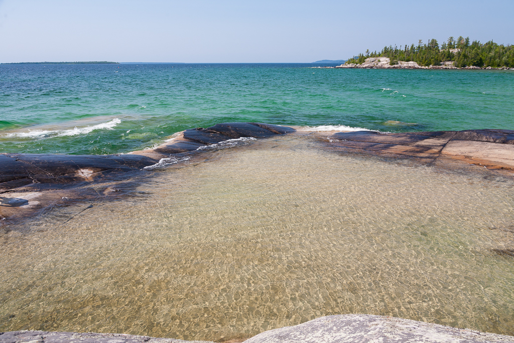 Bathtub Island – A hidden gem in Lake Superior Provincial Park