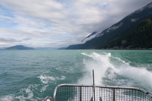 En route to Juneau with Alaska Fjordlines
