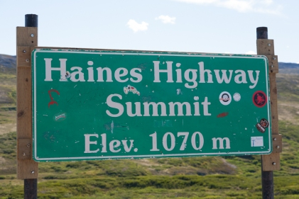 Haines Highway Summit