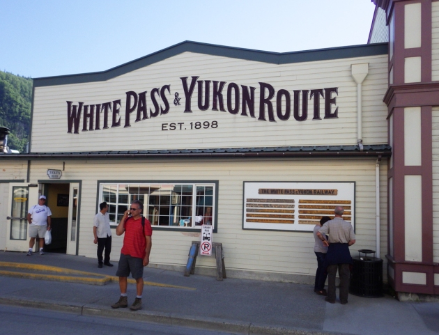 White Pass & Yukon Route train trip