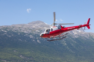 Helicopter tours in Skagway