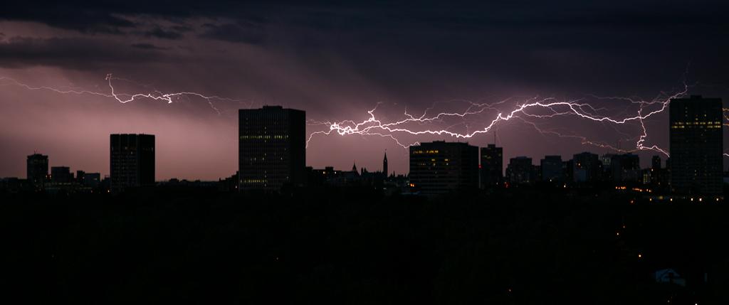 Lightning over Tunney's Pasture
