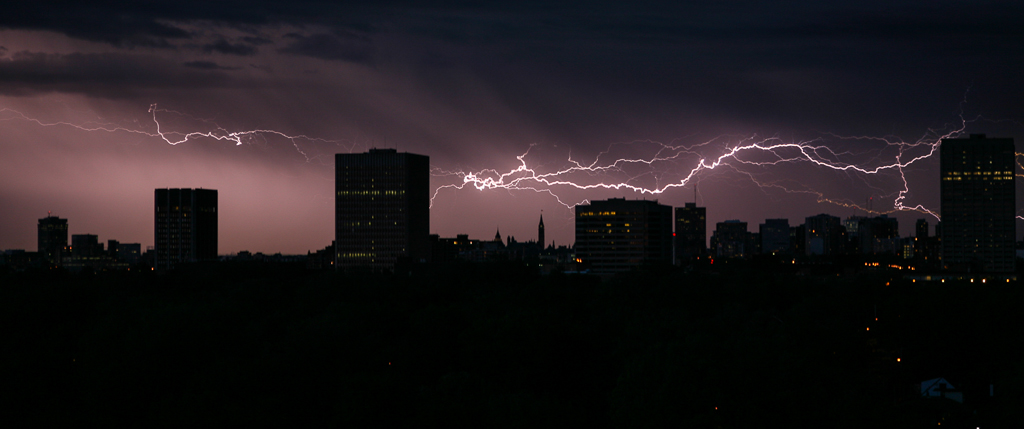 Lightning over Tunney's Pasture