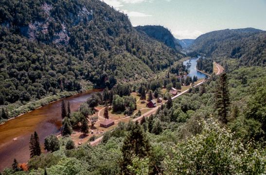 Agawa Canyon views