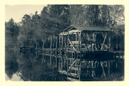 Private camp in the Maurepas Swamp