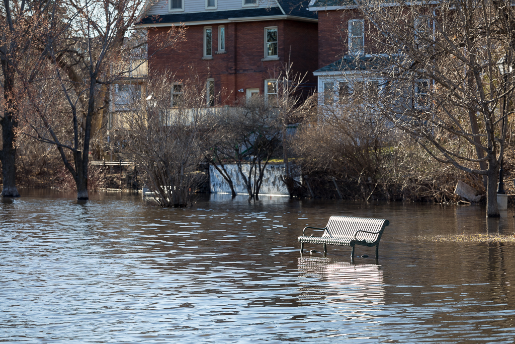 Spring flooding in CentralPark